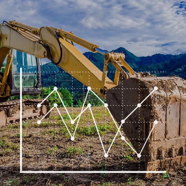 建設機械・仮設資材賃貸料金指数